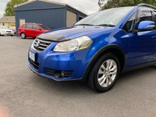 2012 Suzuki SX4 GYA MY11 S Blue 6 Speed Constant Variable Hatchback.