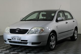 2003 Toyota Corolla ZZE122R Ascent Silver 5 Speed Manual Hatchback