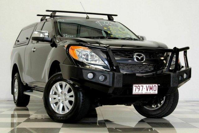 Used Mazda BT-50 MY13 XTR (4x4) Burleigh Heads, 2014 Mazda BT-50 MY13 XTR (4x4) Black 6 Speed Automatic Freestyle Utility