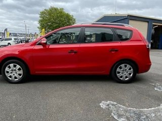 2010 Hyundai i30 FD MY10 SX cw Wagon Red 4 Speed Automatic Wagon