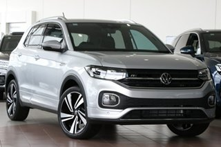 2020 Volkswagen T-Cross C1 MY21 85TSI DSG FWD Style Silver 7 Speed Sports Automatic Dual Clutch.