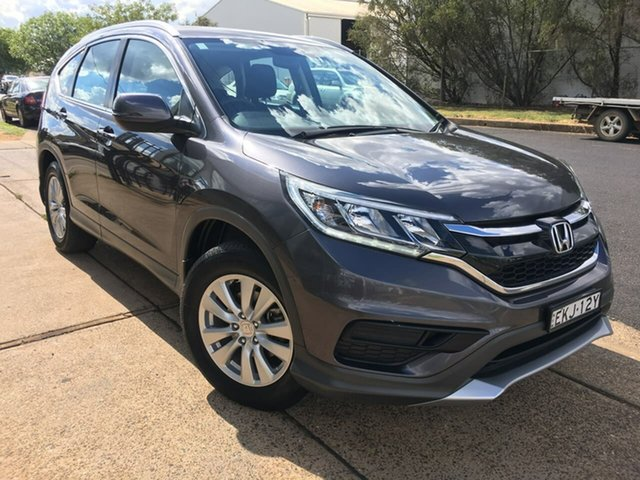 Used Honda CR-V VTi Dubbo, 2016 Honda CR-V RM Series II VTi Grey Sports Automatic