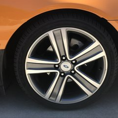 2007 Ford Falcon BF Mk II XR6 Orange 6 Speed Sports Automatic Sedan