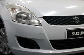 2011 Suzuki Swift FZ GA White 5 Speed Manual Hatchback.