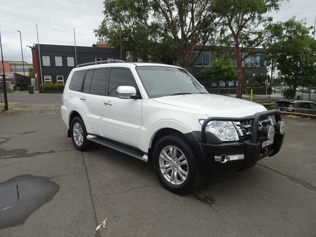 Used Mitsubishi Pajero NX MY16 GLX Nowra, 2016 Mitsubishi Pajero NX MY16 GLX White 5 Speed Sports Automatic Wagon