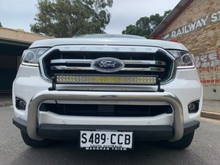 2019 Ford Ranger PX MkIII 2019.00MY XLT Arctic White 6 Speed Sports Automatic Double Cab Pick Up