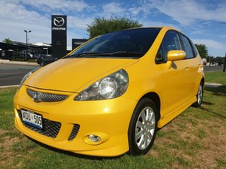 2007 Honda Jazz GD VTi-S Yellow 5 Speed Manual Hatchback