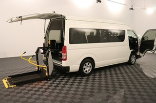 2017 Toyota HiAce KDH223R Commuter High Roof Super LWB French Vanilla 4 speed Automatic Bus
