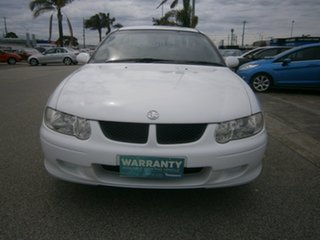 2001 Holden Ute VU II S White 4 Speed Automatic Utility.