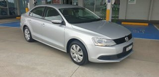 2014 Volkswagen Jetta 1B MY14 118TSI DSG Silver 7 Speed Sports Automatic Dual Clutch Sedan.