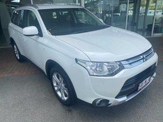 2014 Mitsubishi Outlander ZJ MY14.5 ES 4WD 6 Speed Constant Variable Wagon.