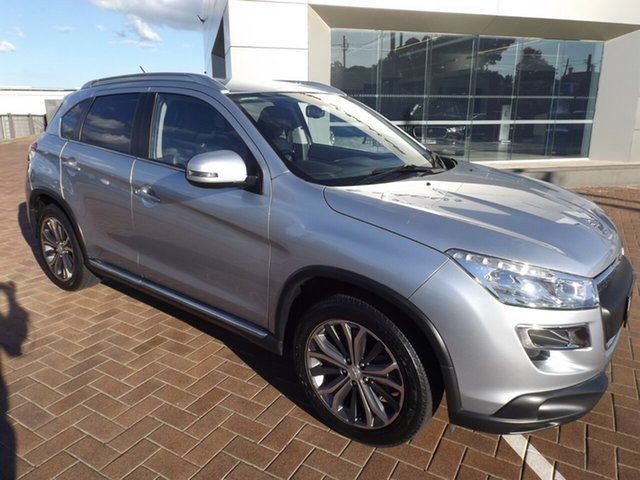 Used Peugeot 4008 MY15 Active 2WD Toowoomba, 2015 Peugeot 4008 MY15 Active 2WD Silver 6 Speed Constant Variable Wagon