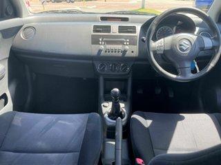 2010 Suzuki Swift EZ 07 Update Red 5 Speed Manual Hatchback