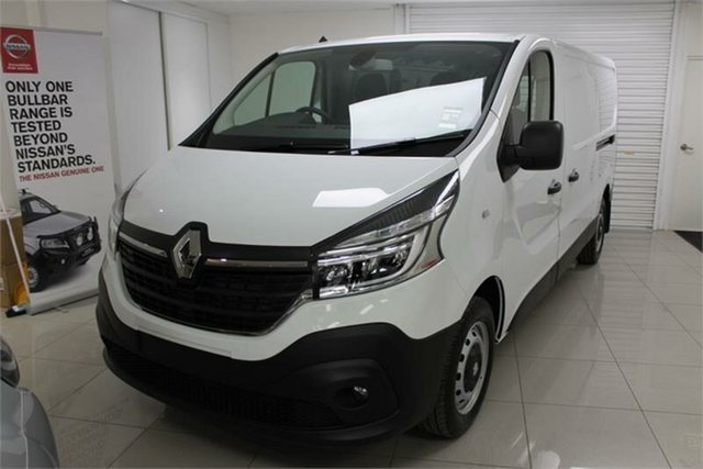 New Renault Trafic X82 , 2020 Renault Trafic X82 Pro 85kW Glacier White 6 Speed Manual Van