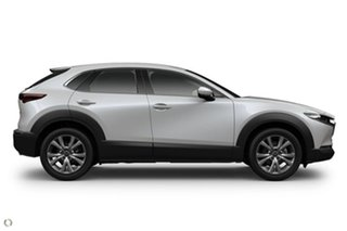 2020 Mazda CX-30 DM4WLA G25 SKYACTIV-Drive i-ACTIV AWD Touring White 6 Speed Sports Automatic Wagon