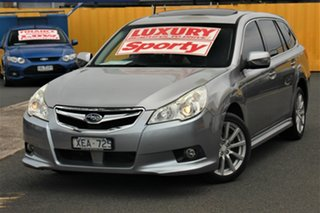 2009 Subaru Liberty B5 MY10 2.5i Lineartronic AWD Premium Silver 6 Speed Constant Variable Wagon.