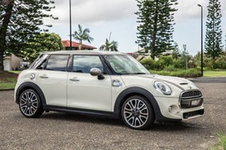 2017 Mini Hatch F55 Cooper S Pepper White 6 Speed Automatic Hatchback.