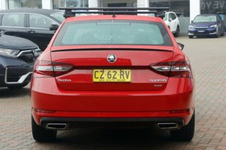 2017 Skoda Superb NP MY18 206TSI Sedan DSG Red 6 Speed Sports Automatic Dual Clutch Liftback