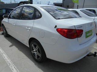 2007 Hyundai Elantra HD SX White 4 Speed Automatic Sedan.