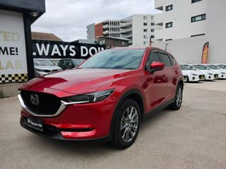 2019 Mazda CX-5 Akera Red Sports Automatic Wagon.