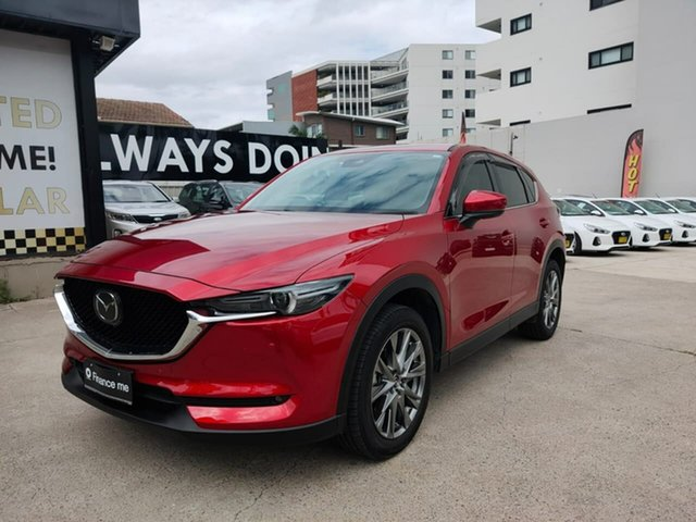 Used Mazda CX-5 Goulburn, 2019 Mazda CX-5 Akera Red Sports Automatic Wagon