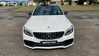 2020 Mercedes-Benz C-Class W205 801MY C63 AMG SPEEDSHIFT MCT S Designo Diamond White Bright 9 Speed.