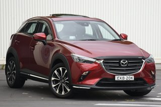 2019 Mazda CX-3 DK2W7A Akari SKYACTIV-Drive FWD Soul Red 6 Speed Sports Automatic Wagon.