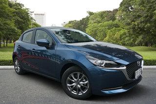 2020 Mazda 2 DJ2HAA G15 SKYACTIV-Drive Pure Eternal Blue 6 Speed Sports Automatic Hatchback.