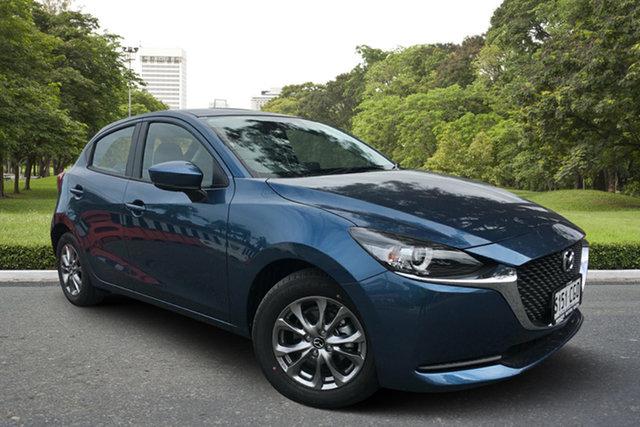 Demo Mazda 2 DJ2HAA G15 SKYACTIV-Drive Pure Paradise, 2020 Mazda 2 DJ2HAA G15 SKYACTIV-Drive Pure Eternal Blue 6 Speed Sports Automatic Hatchback
