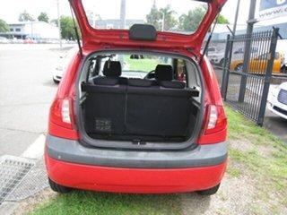 2009 Hyundai Getz TB MY09 S Red 5 Speed Manual Hatchback