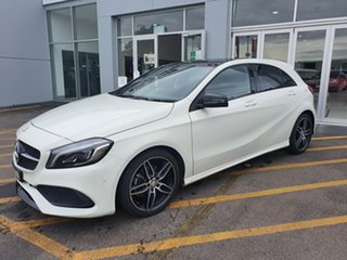 2016 Mercedes-Benz A-Class W176 806MY A200 D-CT White 7 Speed Sports Automatic Dual Clutch Hatchback.