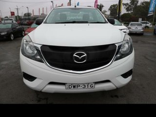 2017 Mazda BT-50 MY16 XT Hi-Rider (4x2) White 6 Speed Automatic Cab Chassis