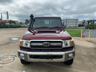 2013 Toyota Landcruiser VDJ76R MY13 GXL Red 5 Speed Manual Wagon