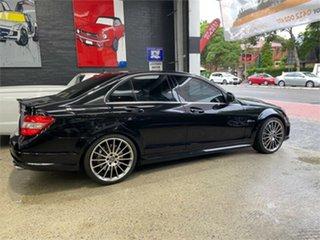 2008 Mercedes-Benz C-Class W204 C63 AMG Obsidian Black Sports Automatic Sedan