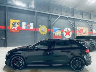 2016 Audi RS 3 8V MY16 Sportback S Tronic Quattro Black 7 Speed Sports Automatic Dual Clutch