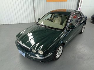 2002 Jaguar X-Type X400 SE Green 5 Speed Automatic Sedan