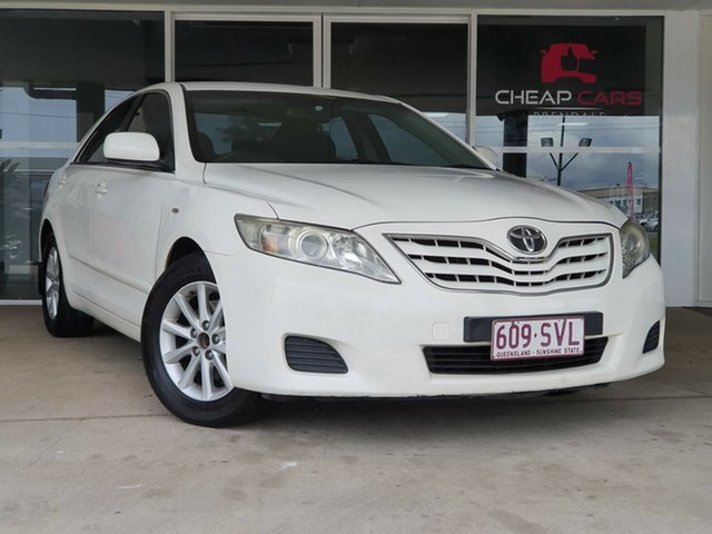 Used Toyota Camry ACV40R Altise Brendale, 2011 Toyota Camry ACV40R Altise White 5 Speed Automatic Sedan
