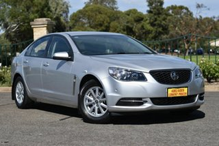 2017 Holden Commodore VF II MY17 Evoke Silver 6 Speed Sports Automatic Sedan.