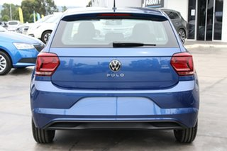 2020 Volkswagen Polo AW MY21 70TSI DSG Trendline Blue 7 Speed Sports Automatic Dual Clutch Hatchback