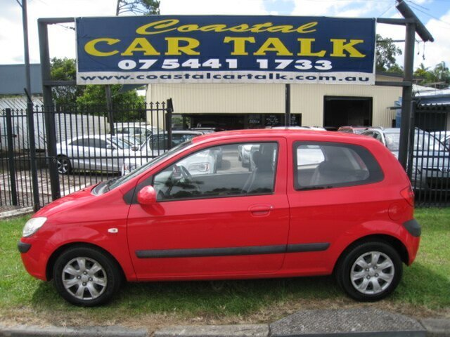 Used Hyundai Getz TB MY09 S Nambour, 2009 Hyundai Getz TB MY09 S Red 5 Speed Manual Hatchback
