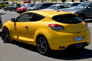 2014 Renault Megane III D95 Phase 2 R.S. 265 Cup Premium Yellow 6 Speed Manual Coupe.