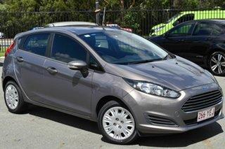 2015 Ford Fiesta WZ Ambiente Grey 6 Speed Automatic Hatchback.
