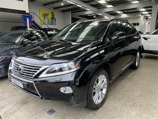 2013 Lexus RX GGL15R RX350 Luxury Black Sports Automatic Wagon