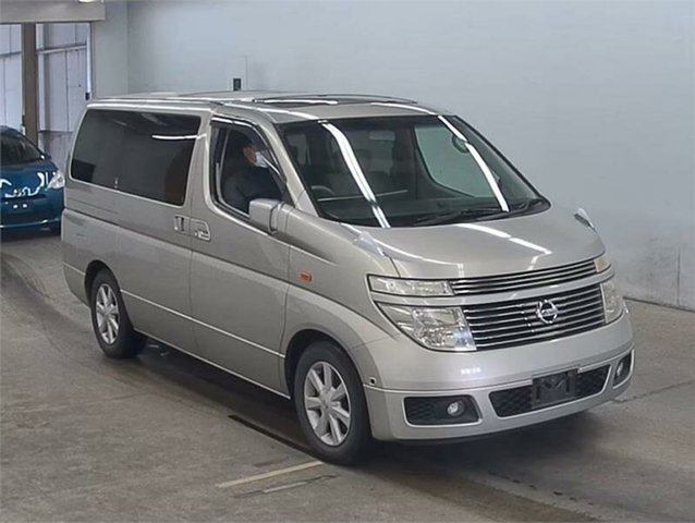 Used Nissan Elgrand X Silverwater, 2003 Nissan Elgrand NE51 X Silver Automatic Wagon