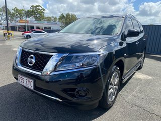 2015 Nissan Pathfinder R52 MY15 ST X-tronic 4WD Black 1 Speed Constant Variable Wagon