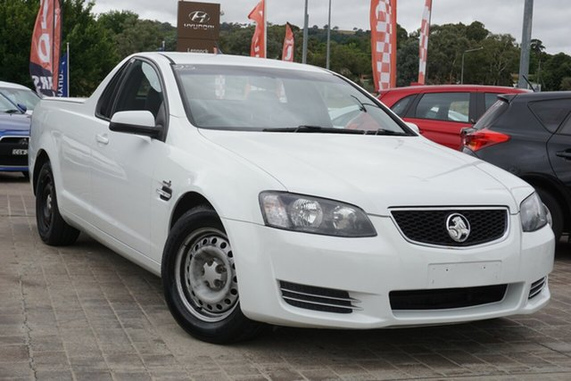 Used Holden Ute VE II MY12.5 Omega Phillip, 2013 Holden Ute VE II MY12.5 Omega White 6 Speed Sports Automatic Utility