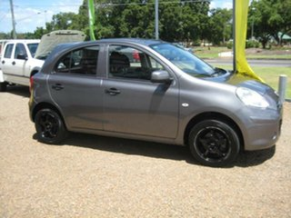 2012 Nissan Micra Grey Automatic Hatchback