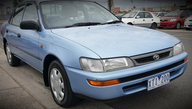 Used Toyota Corolla AE102R Conquest Cheltenham, 1998 Toyota Corolla AE102R Conquest 4 Speed Automatic Sedan