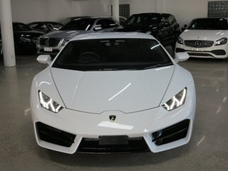 2017 Lamborghini Huracan 724 MY17 LP580-2 D-CT White 7 Speed Sports Automatic Dual Clutch Coupe