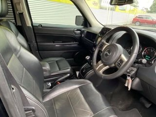 2012 Jeep Patriot MK MY2012 Limited CVT Auto Stick Black 6 Speed Constant Variable Wagon